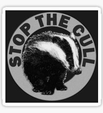 STOP THE CULL Sticker