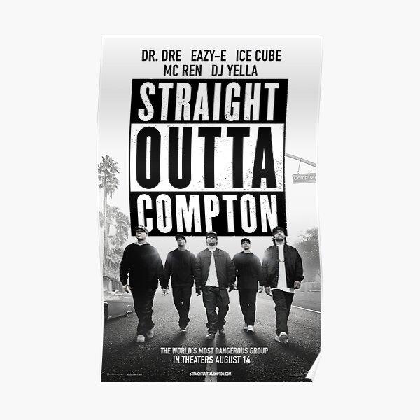 Straight Outta Compton Movie Poster Culture Poster