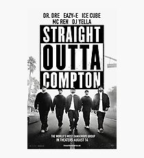 Straight Outta Compton Movie Photographic Print