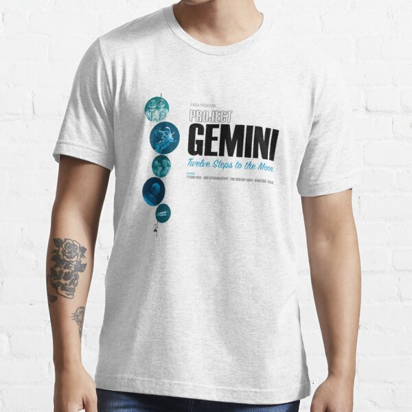 PROJECT GEMINI: Twelve steps To The Moon (Light T-Shirt Version) Essential T-Shirt
