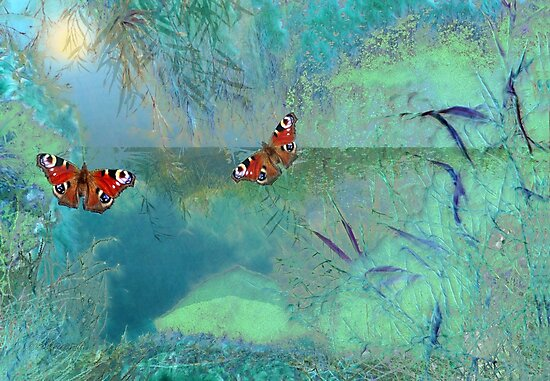 The Pond  by Valerie Anne Kelly