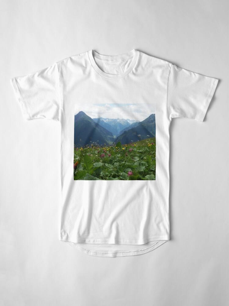 Alternative Ansicht von Wilde Blumen Longshirt