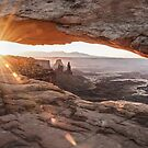 Mesa Arch Sunrise - Canyonlands National Park - Moab Utah by Gregory Ballos