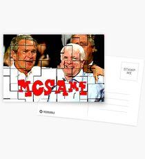 McSame - McCain Postcards