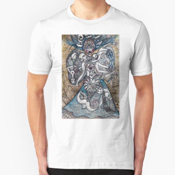 Ofrenda a los siete mares   Slim Fit T-Shirt