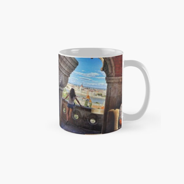 Wake Up Positive Today. Join the Happiness Movement Classic Mug