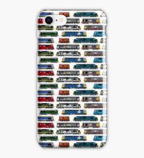 Diesel Locomotive Print iPhone Case/Skin