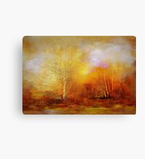 Russet Lane  Canvas Print