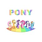 Abbildung Pony von Ludovica Innocenti