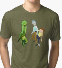 Camiseta de tejido mixto Rick y Morty Toxic vs Healthy
