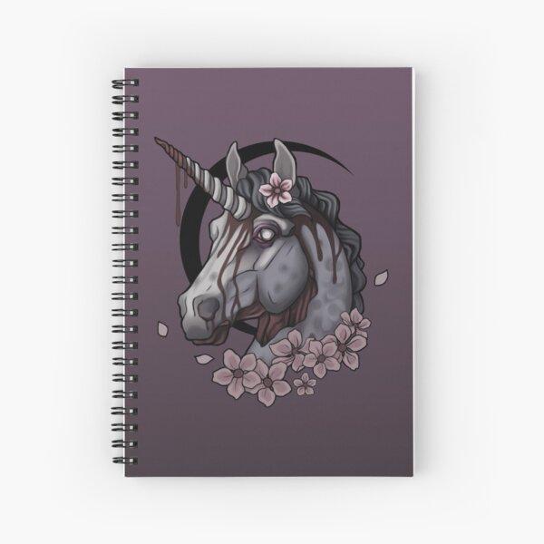 Zombie Unicorn  Spiral Notebook
