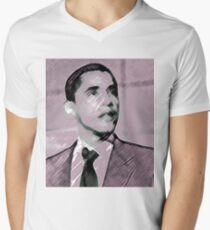 Barack Obama Men's V-Neck T-Shirt
