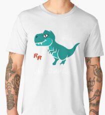 T-rex Dinosaur I Am Unstoppable Men's Premium T-Shirt