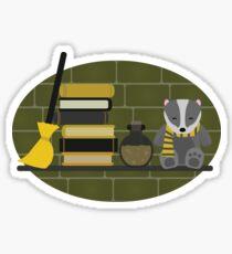 House Shelf - Badger Sticker