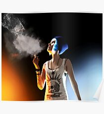 Chloe Price - Smokin' Death - Life is Strange Poster