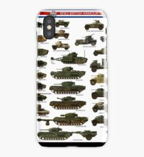 British Armour of ww2 iPhone Case/Skin
