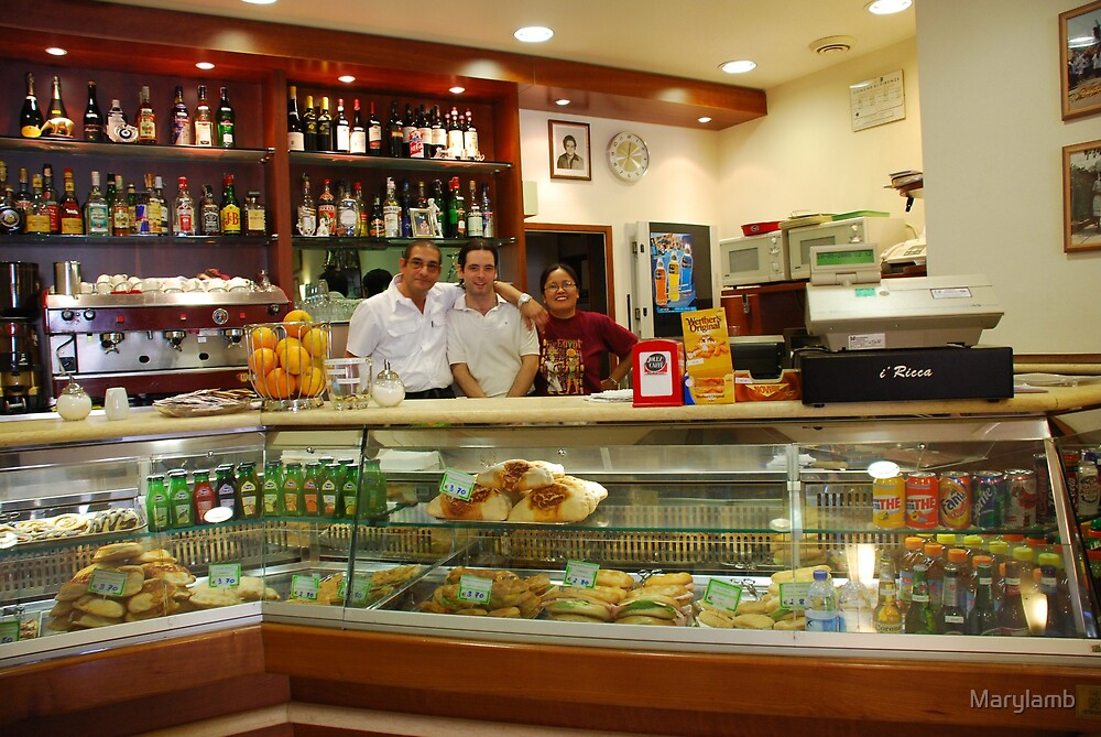 Florence Italy Bar Pizzeria by Marylamb