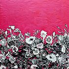 "Fushia Flower Print by Belinda ""BillyLee"" NYE (Printmaker)"