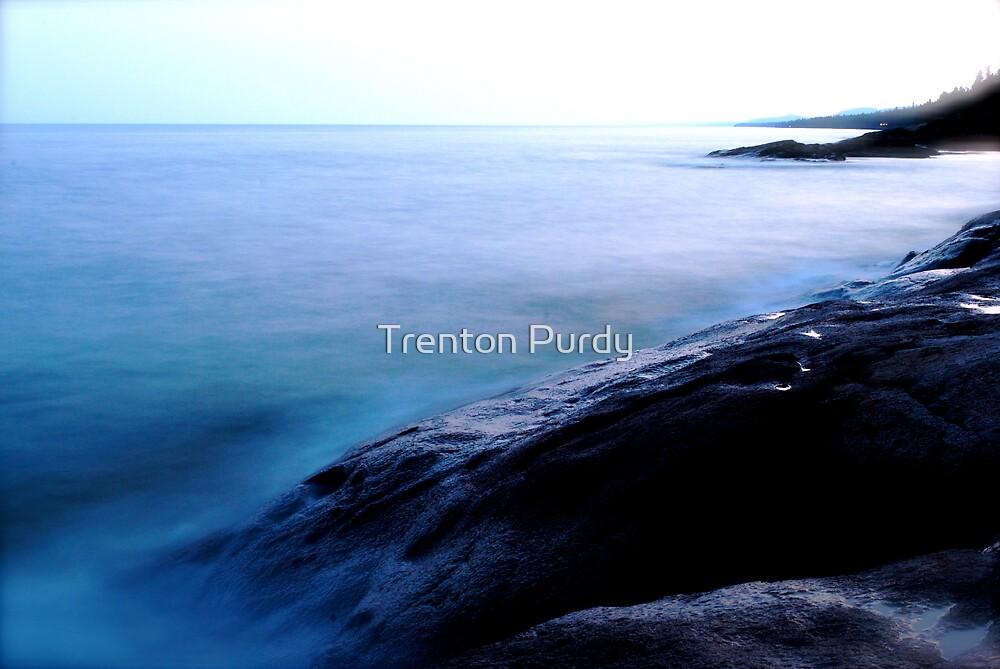 Rock Shore by Trenton Purdy