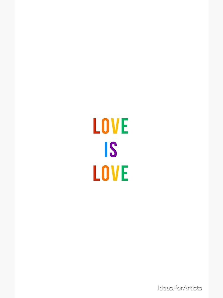 love is love  by IdeasForArtists