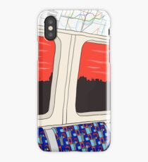 View from London Jubilee Line iPhone Case/Skin