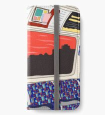 View from London Jubilee Line iPhone Wallet/Case/Skin
