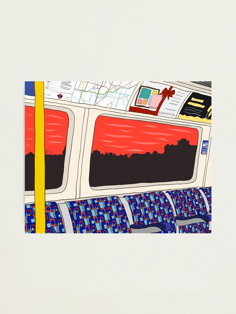 Alternate view of View from London Jubilee Line Photographic Print