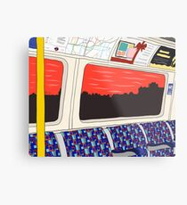 View from London Jubilee Line Metal Print