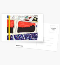 View from London Jubilee Line Greeting Card