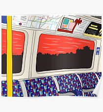 View from London Jubilee Line Poster