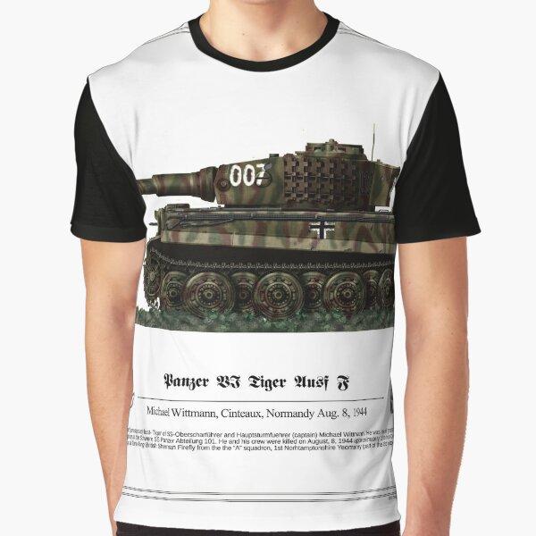 Tiger ausf J - Michael Wittman Graphic T-Shirt