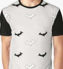 Cool Pattern of Bats Graphic T-Shirt