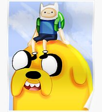 Finn and Jake's Journey Poster