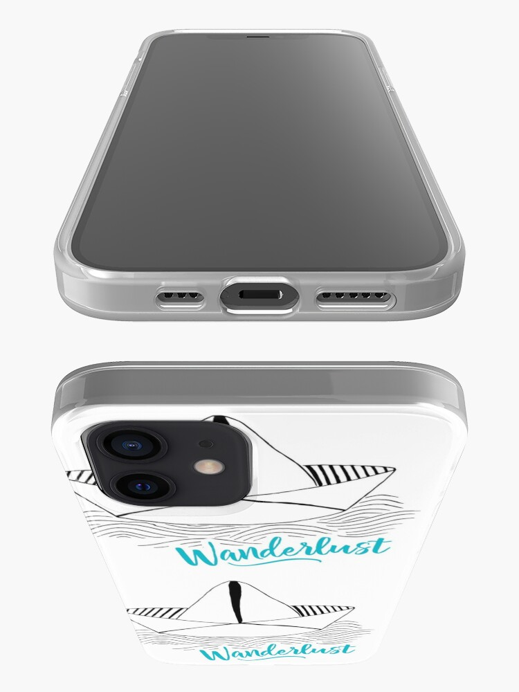 Alternate view of Wanderlust - Travel addiction iPhone Case & Cover