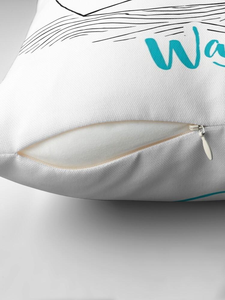 Alternate view of Wanderlust - Travel addiction Throw Pillow