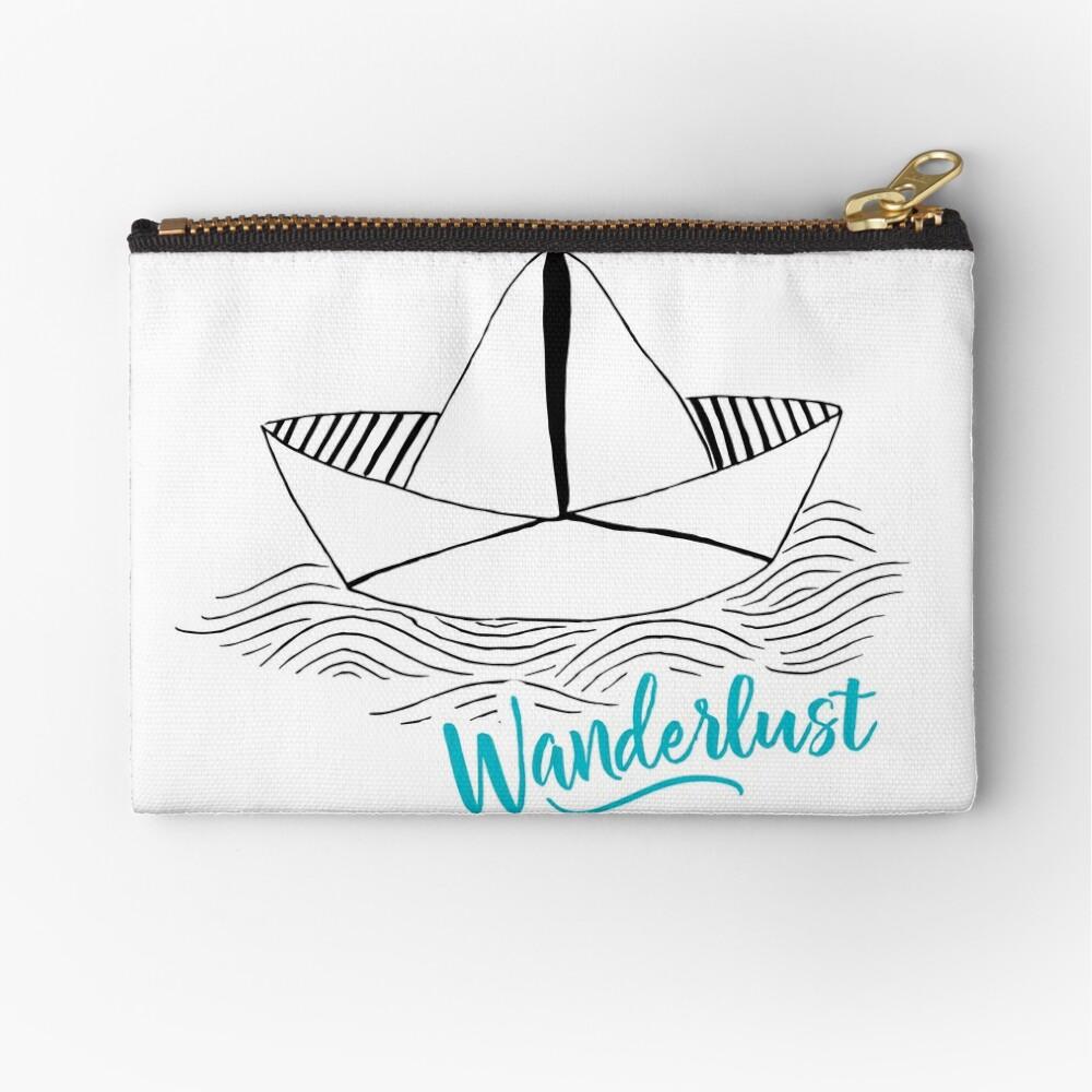 Wanderlust - Travel addiction Zipper Pouch