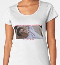 Ferris Bueller's Day Off - Life moves pretty fast  Women's Premium T-Shirt