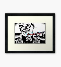 Great Job! [REMASTERED] Framed Print