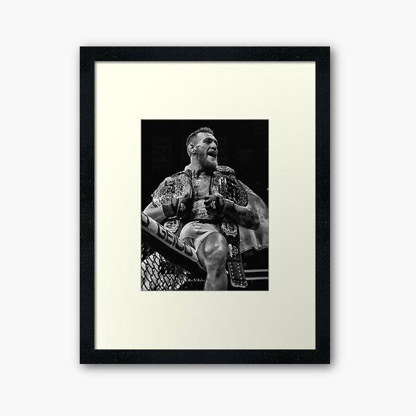 CHAMP CHAMP / B&W VERSION Framed Art Print