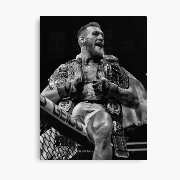 CHAMP CHAMP / B&W VERSION Canvas Print