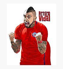 Arturo Vidal - Chile _ FC Bayern Munich  Photographic Print