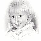 5-year-old boy drawing by Mike Theuer