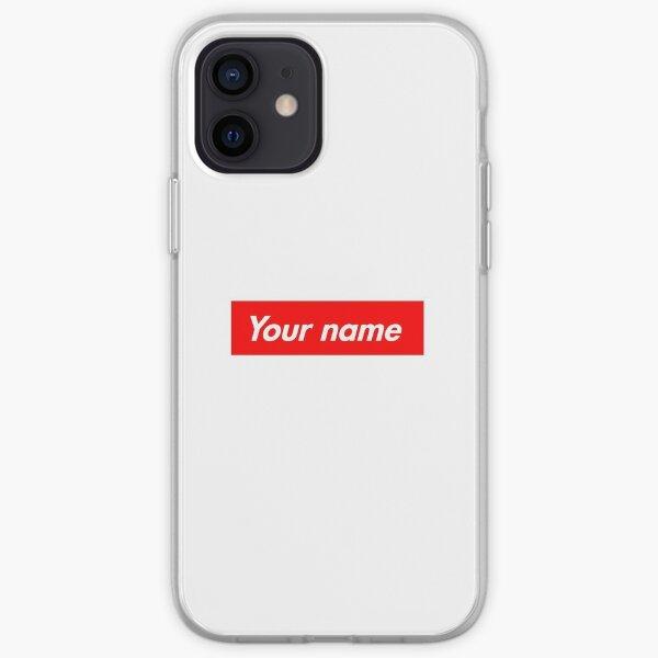Customisable Supreme Box Logo iPhone Soft Case