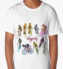 Cycling Legends pattern Long T-Shirt