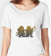 Potatoes Inspired Silhouette Women's Relaxed Fit T-Shirt