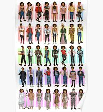 Every Bill Potts Outfit Ever Poster