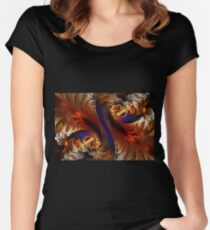 Persephone's fate Women's Fitted Scoop T-Shirt