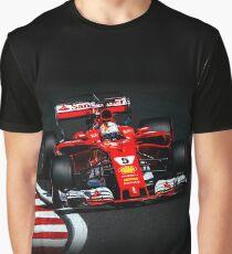 Sebastian Vettel - Ferrari Graphic T-Shirt