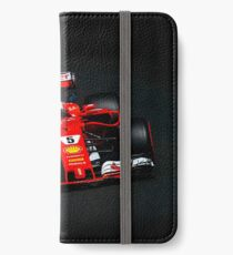 Sebastian Vettel - Ferrari iPhone Wallet/Case/Skin