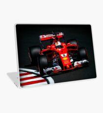 Sebastian Vettel - Ferrari Laptop Skin